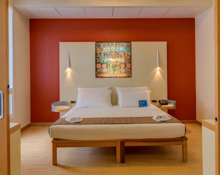 Try the comfortable Junior Suites of the 4 star Plus Hotel Bolgona, near Venice