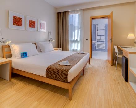 Discover the comfort of our Standard rooms: book Best Western Plus Hotel Bologna, 4-star hotel near Venice!