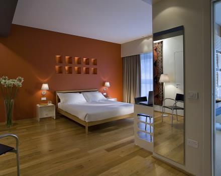 In our Superior rooms you will discover 4-star comforts and facilities and the pleasure of staying close to Venice!