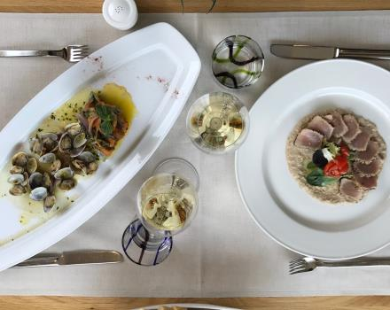 Da Tura restaurant in Venice Mestre offers regional and international cuisine.