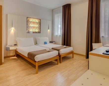 Discover the comfort of a Standard room at the Best Western Hotel Bologna, 4 star hotel in Venice Mestre